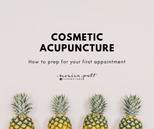 Everything you need to know about your first cosmetic acupuncture appointment.