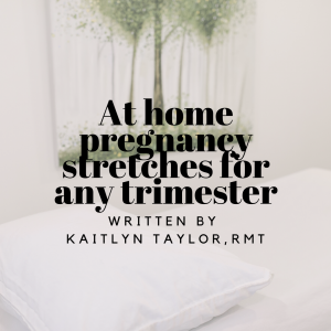 At home pregnancy stretches for any trimester